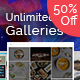 ULG Pro WordPress Unlimited Galleries - CodeCanyon Item for Sale