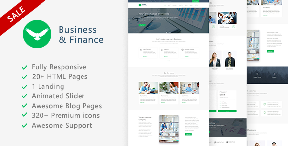 Proff - Business and Finance Template