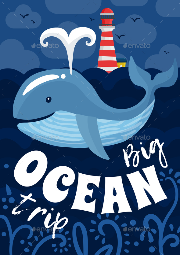 GraphicRiver Ocean Trip Poster 20664691