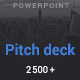 Pitch Deck Minimal Powerpoint Template