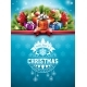 Merry Christmas Illustration with Typography - GraphicRiver Item for Sale