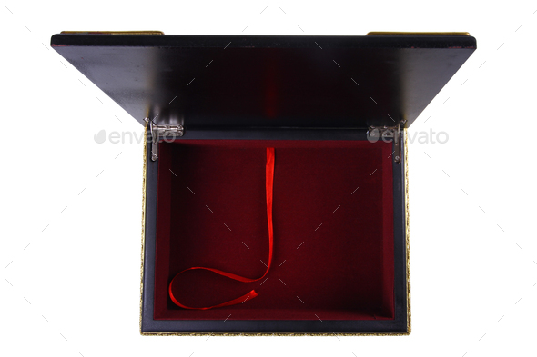 Qu'ran Box empty isolated - Stock Photo - Images