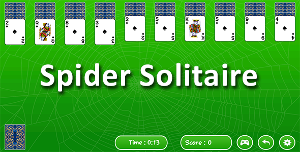 CodeCanyon Spider Solitaires Android Game & Admob ad 20665213