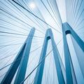 cable-stayed bridge closeup - PhotoDune Item for Sale