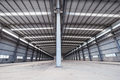 empty steel structure warehouse  - PhotoDune Item for Sale