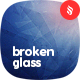 Broken Glass Backgrounds - GraphicRiver Item for Sale