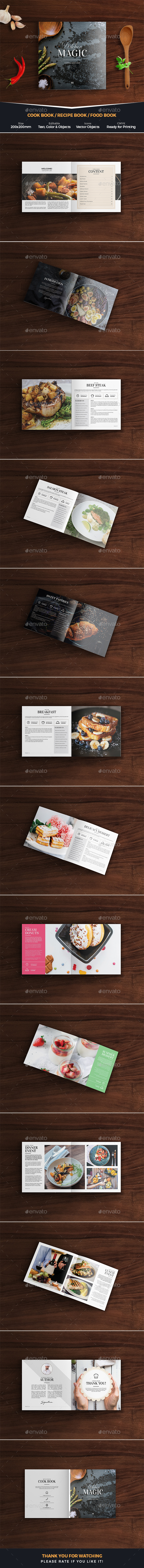 GraphicRiver Kitchen Stories Cook Book 20625878