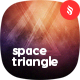 Space Triangle Backgrounds - GraphicRiver Item for Sale