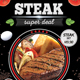 Steak / Restaurant Flyer (A4)