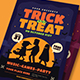 Halloween Trick or Treat Flyer - GraphicRiver Item for Sale