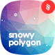 Snowy Polygon Backgrounds - GraphicRiver Item for Sale