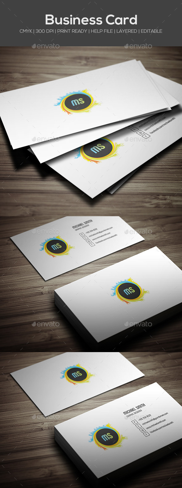GraphicRiver Personal Business Card 20665516