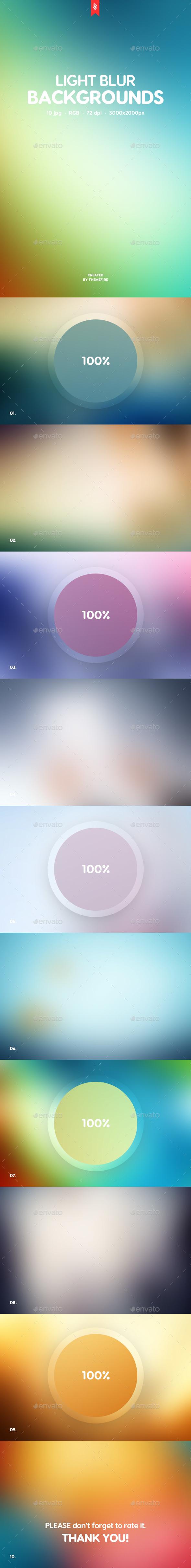 Light Blur Backgrounds - Backgrounds Graphics