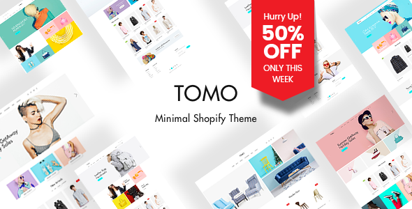 Image of TOMO - Elegant Layout Builder Shopify Theme