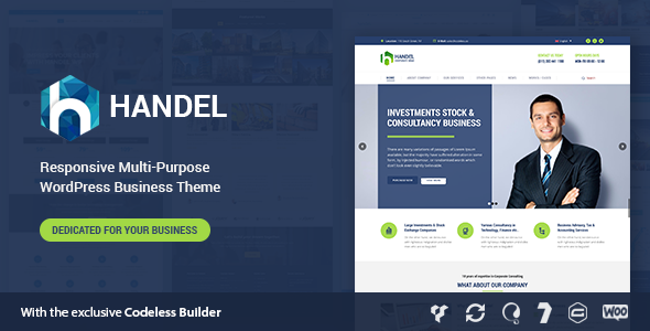 Handel - Responsive Multi-Purpose Business Theme - Business Corporate
