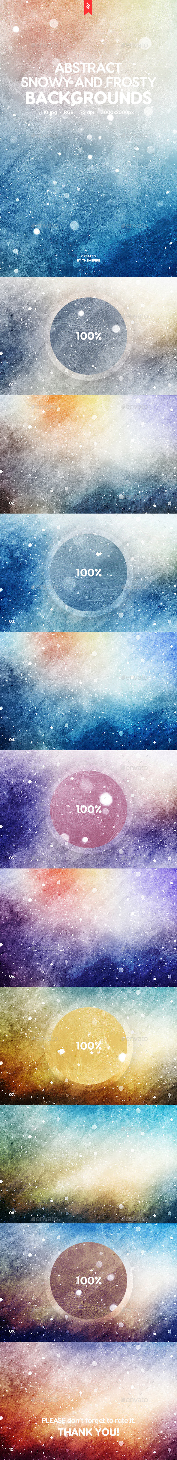 Snowy and Frosty Backgrounds - Backgrounds Graphics
