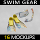 Swim Gear Equipment MockUp