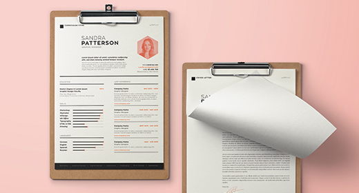 CV or Resume and Cover Letter templates