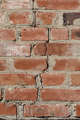 The crack in the brick wall.