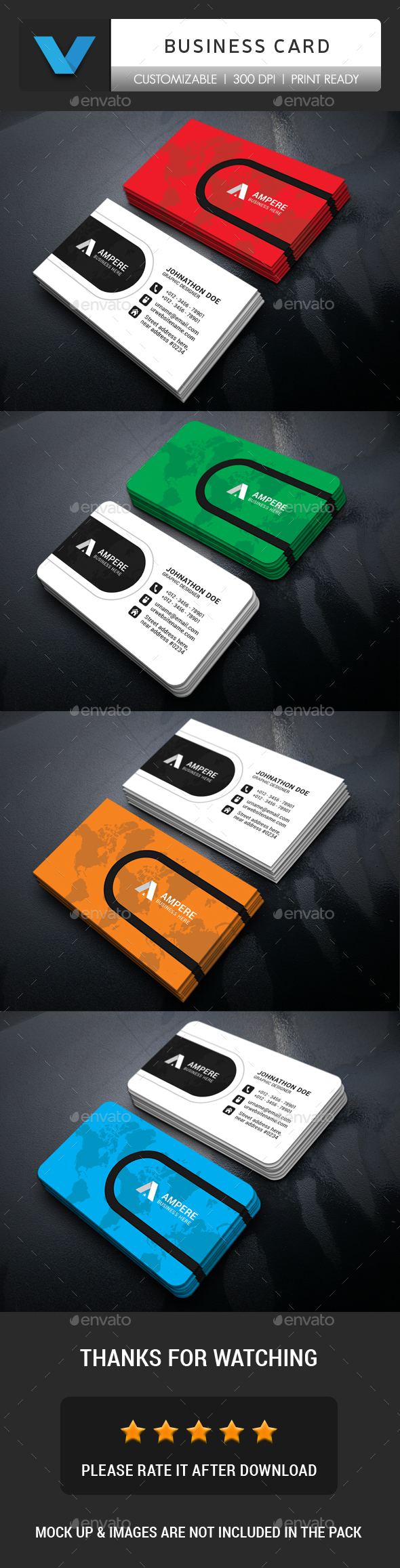 GraphicRiver Creative Business Card 20667224