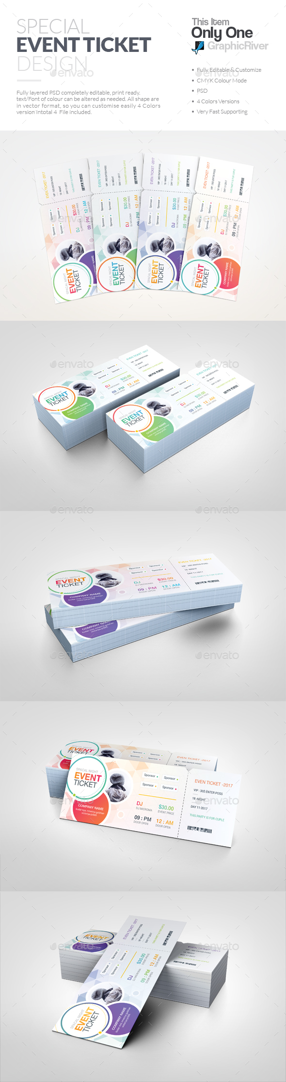 GraphicRiver Ticket 20667254
