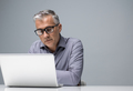 Businessman working with a laptop - PhotoDune Item for Sale