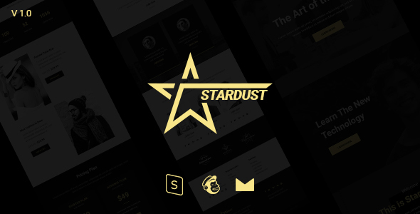 Stardust Multipurpose Email Template + Stampready Builder