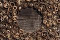 Wood shavings background - PhotoDune Item for Sale