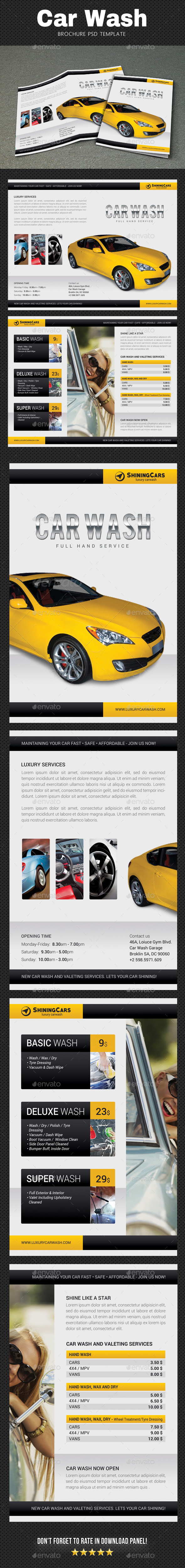 Car Wash Brochure 2 - Catalogs Brochures