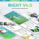 Right V4 Multipurpose Powerpoint Template - GraphicRiver Item for Sale