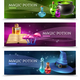 Magic Potion Banners