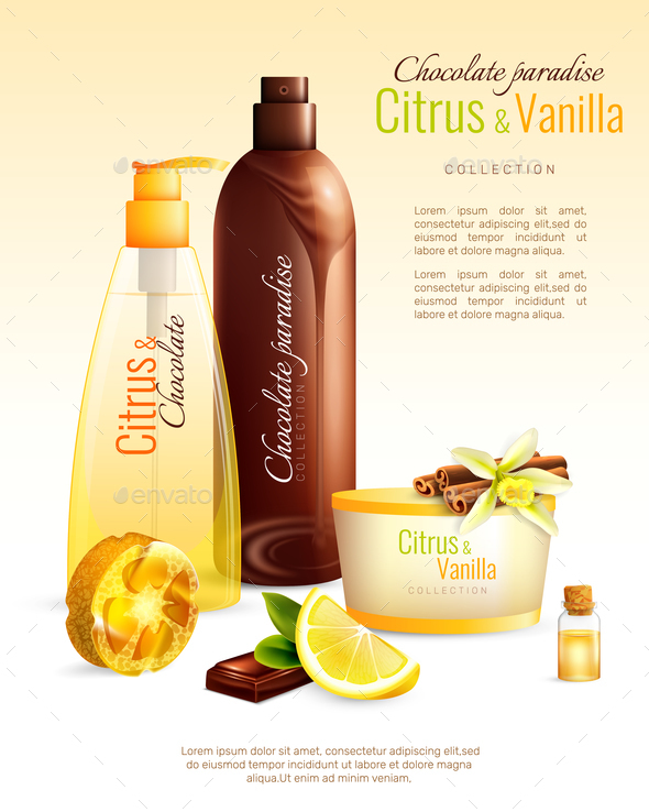 GraphicRiver Handmade Cosmetics With Nutritive Ingredients Poster 20667963