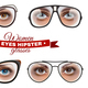 Hipster Women Glasses Set