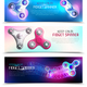 Hand Spinner Toys Horizontal Banner Set - GraphicRiver Item for Sale