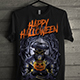 T-Shirt with Halloween Theme