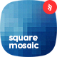 Square Mosaic Backgrounds