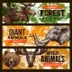 Wild Animals Vector Zoo or Save Animal Banners - GraphicRiver Item for Sale