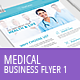 Medical Business Flyer Template 1 - GraphicRiver Item for Sale