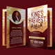 King's Harvest Church Program Template - GraphicRiver Item for Sale