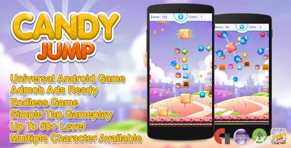 CodeCanyon Candy Jump Android Source Code 20668542