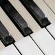 Detail of old, broken and dusty organ keys - PhotoDune Item for Sale