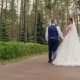 The Bride and Groom Are Walking in the Park - VideoHive Item for Sale