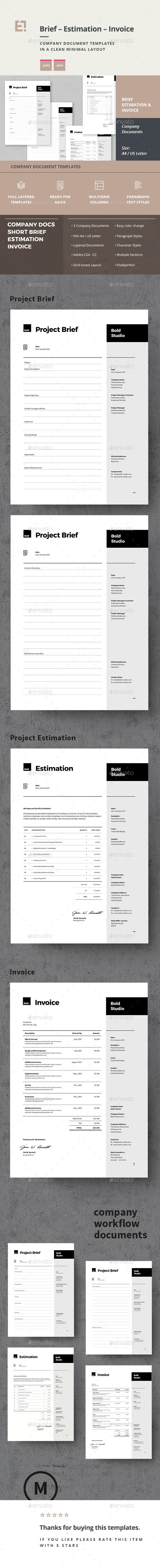 GraphicRiver Invoice Estimation Brief 20668760