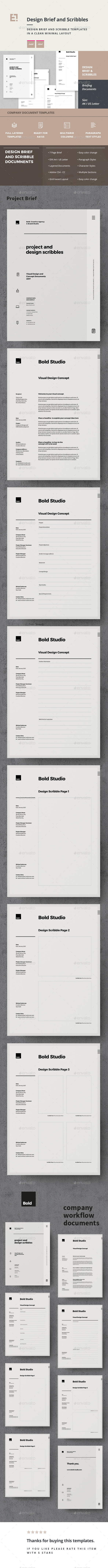 GraphicRiver Brief 20668769