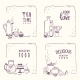 Doodle Food - GraphicRiver Item for Sale