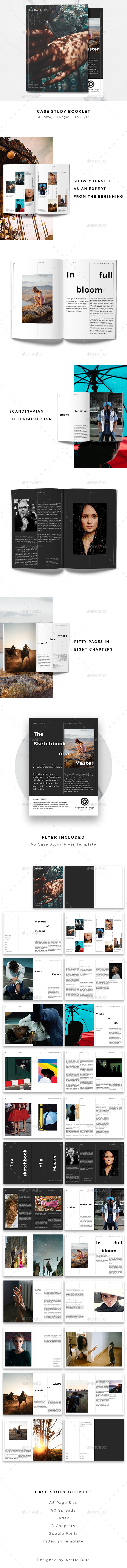 GraphicRiver Case Study Booklet & Flyer 20669075