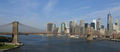 Brooklyn Bridge and New York city in the background - PhotoDune Item for Sale