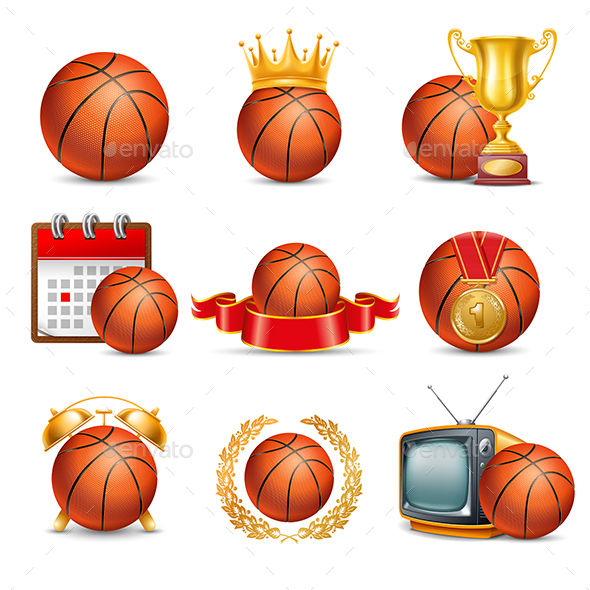 Basketball Set - Sports/Activity Conceptual