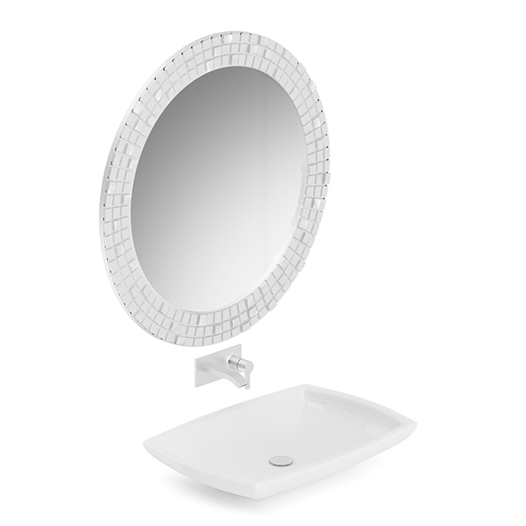 Washbasin and a Mirror - 3DOcean Item for Sale