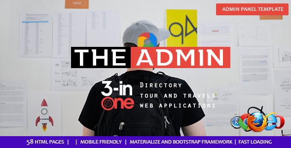 Admin Panel - Multipurpose Admin Template